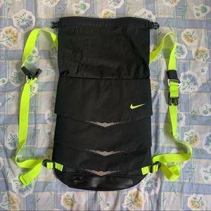 Nike Fold Over Utility Gym Backpack Sack